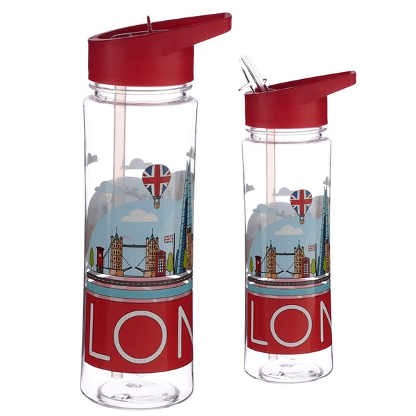 London Skyline Design 500ml Bottle