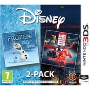 Disney Frozen Big Hero 6 Double Pack 3DS Game