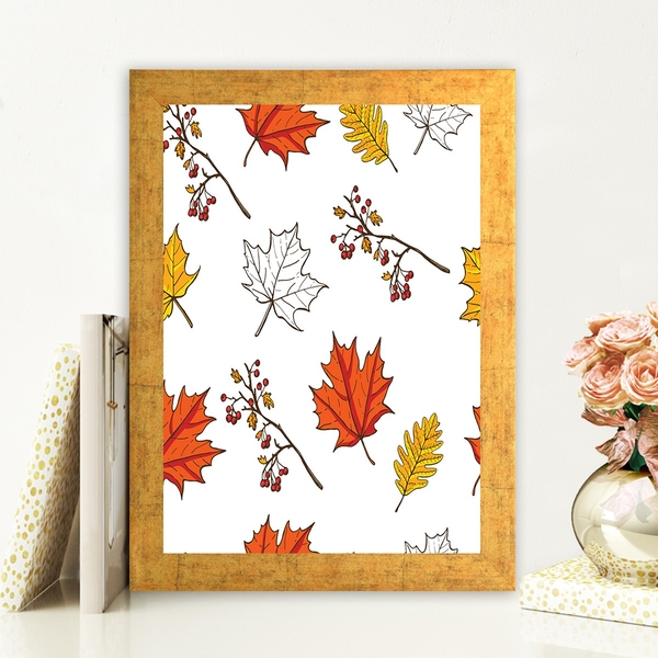 AC85909192 Multicolor Decorative Framed MDF Painting