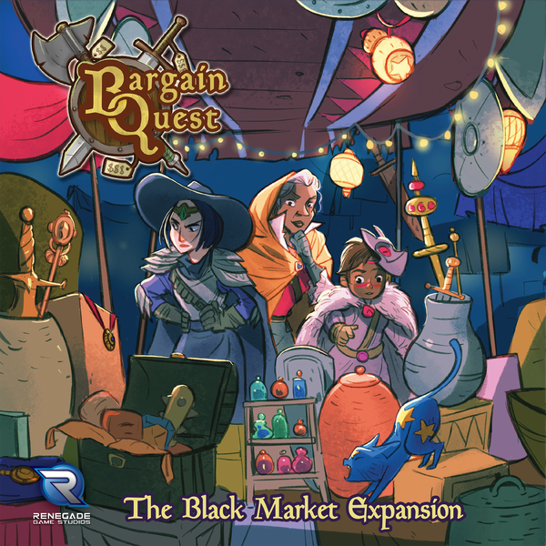 Bargain Quest: The Black Market Board Game Expansion