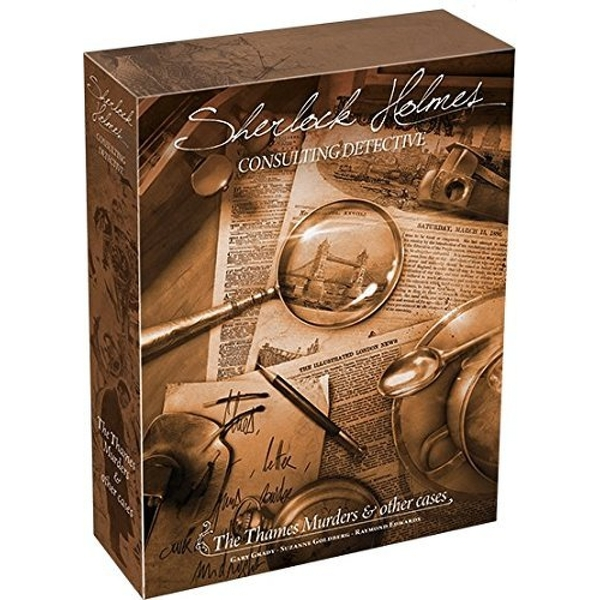 Sherlock Holmes Consulting Detective Thames Murders 2017 Edition Board Game