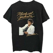 Michael Jackson - Thriller White Suit Men's X-Large T-Shirt - Black