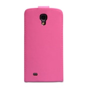 YouSave Accessories Samsung Galaxy Mega 6.3 Leather-Effect Flip Case - Hot Pink