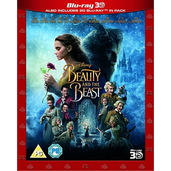 Beauty & The Beast 3D (Live Action) Blu-ray