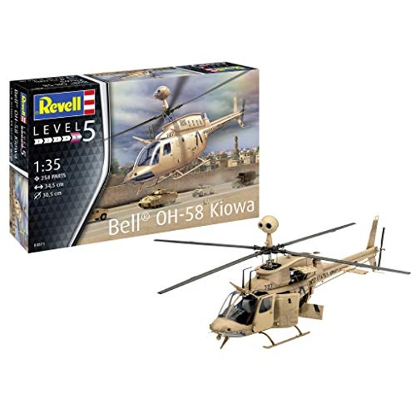 Bell OH-58 Kiowa Revell Model Kit