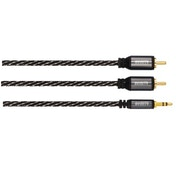 Avinity Audio Cable, 2 RCA plugs - 3.5 mm stereo jack plug, 0.5 m