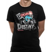 Blondie - Doom Or Destiny Men's Large T-Shirt - Black