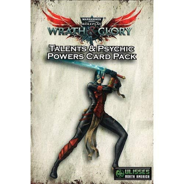 Warhammer 40000 Roleplay Wrath & Glory Character Talents and Psychic Powers Card Pack (55-Card Pack) Board Game