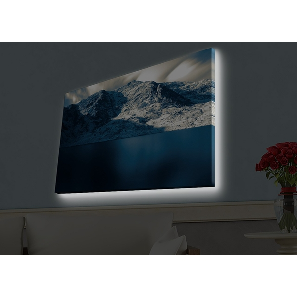 4570HDACT-021 Multicolor Decorative Led Lighted Canvas Painting