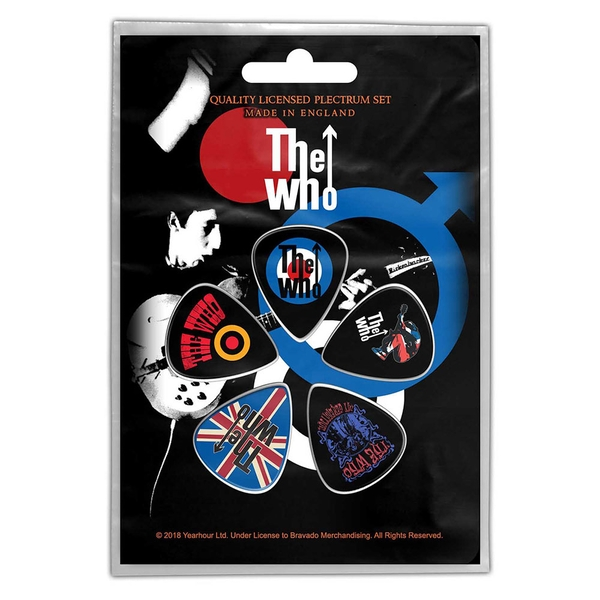 The Who - Pete Townsend Plectrum Pack
