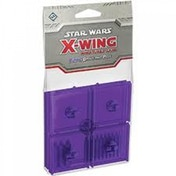 Star Wars X-wing Bases and Pegs Accessory Pack - Purple