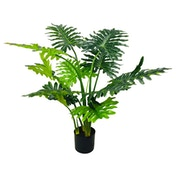 Artificial Philodendron Tree, Short Stems 120cm