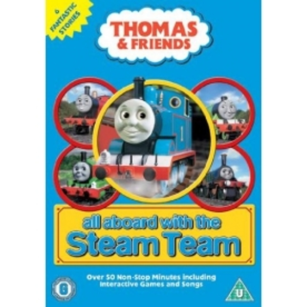 Thomas & Friends All Aboard with the Steam Team DVD