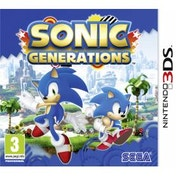 Sonic Generations Game 3DS