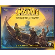 The Settlers of Catan Explorers and Pirates 5-6 Player Expansion