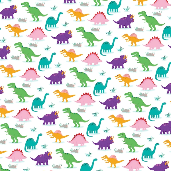 Sass & Belle Roarsome Dinosaurs Wrapping Paper
