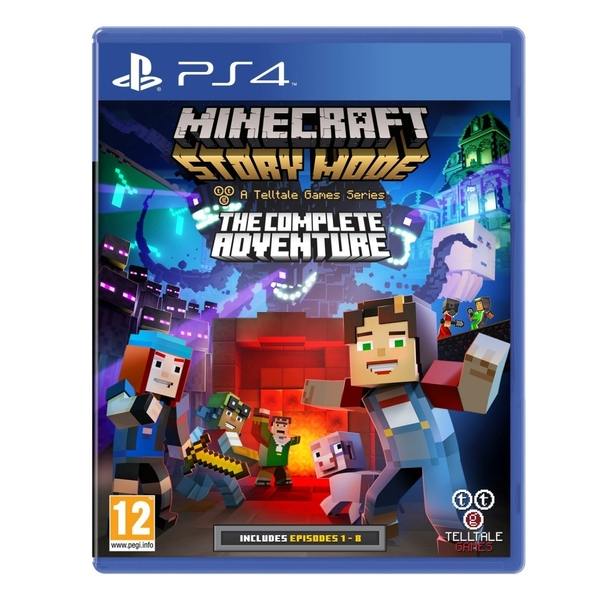 Minecraft Story Mode Complete Adventure PS4 Game