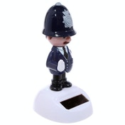 Novelty Policeman Solar Powered Pal