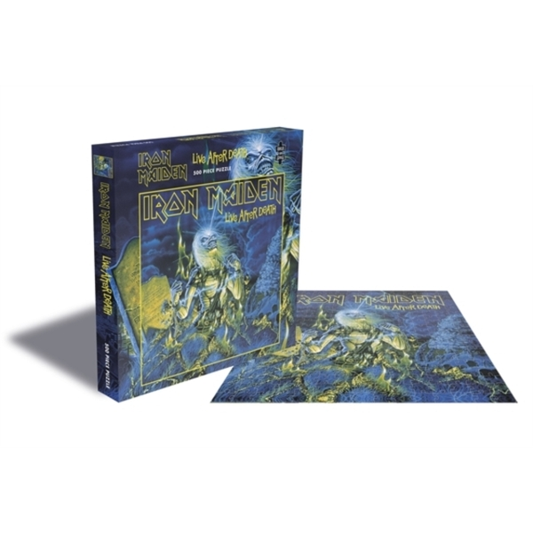 Iron Maiden - Live After Death Jigsaw Puzzle (500 Piece)