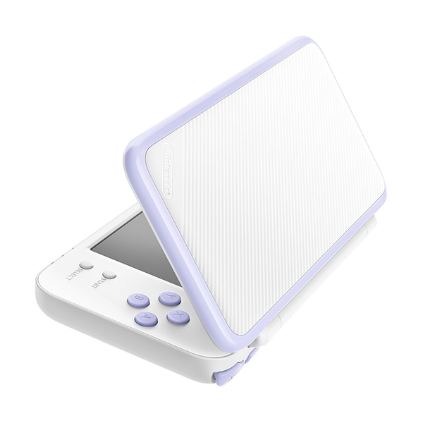 New Nintendo 2DS XL White and Lavender Console Pre-installed with Tomodachi Life (UK Plug) - Image 5