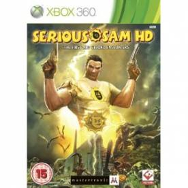 Serious Sam HD The First and Second Encounter Game Xbox 360