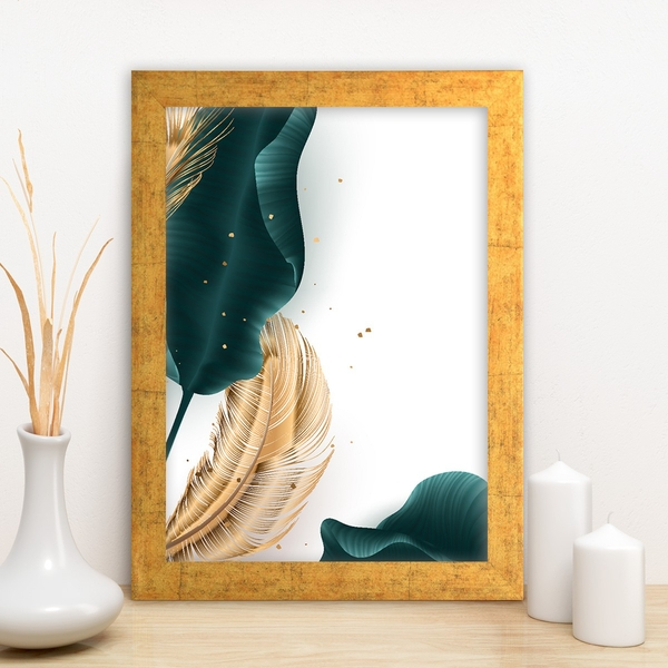 AC13953999321 Multicolor Decorative Framed MDF Painting