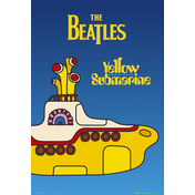 The Beatles Yellow Submarine Cover Maxi Poster