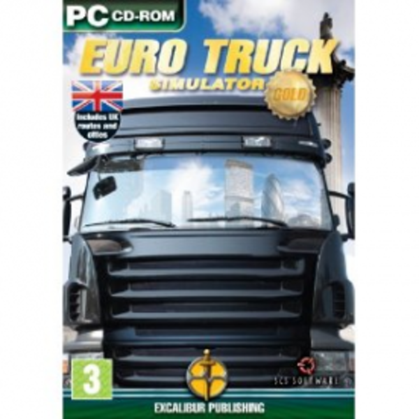 Euro Truck Simulator Gold Edition Game PC