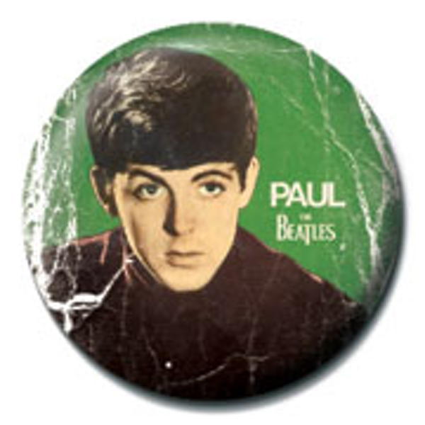 The Beatles - Paul Badge