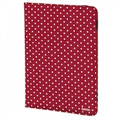 Hama Polka Dot Portfolio, red