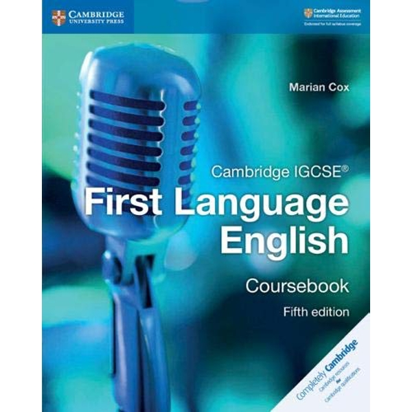 Cambridge IGCSE (R) First Language English Coursebook  Paperback / softback 2018
