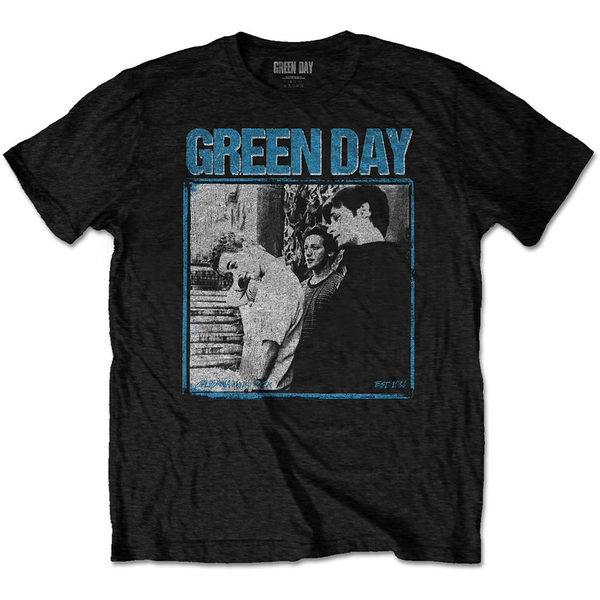 Green Day - Photo Block Men's XX-Large T-Shirt - Black
