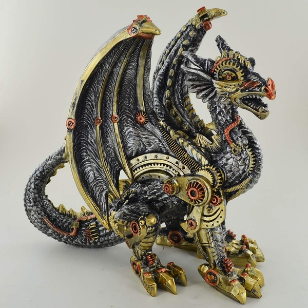Steampunk Mechanical Fantasy Dragon 20cm