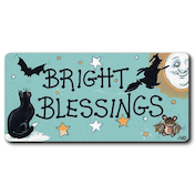 Bright Blessings Smiley Magnet