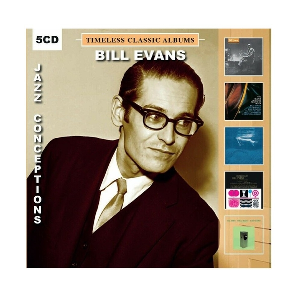 Bill Evans - Timeless Classic Albums Jazz Conceptions CD