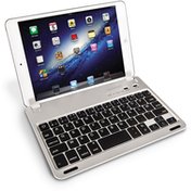 Caseflex iPad Mini French Keyboard - Silver/Black