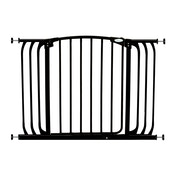 Dreambaby Auto-Close Standard Height Hallway Metal Safety Gate (Black)