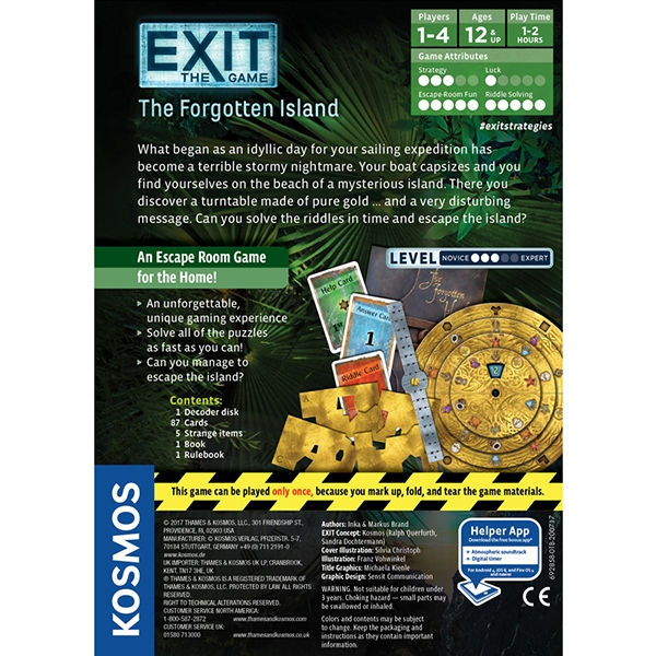 Exit: The Forgotten Island Board Game - Image 3