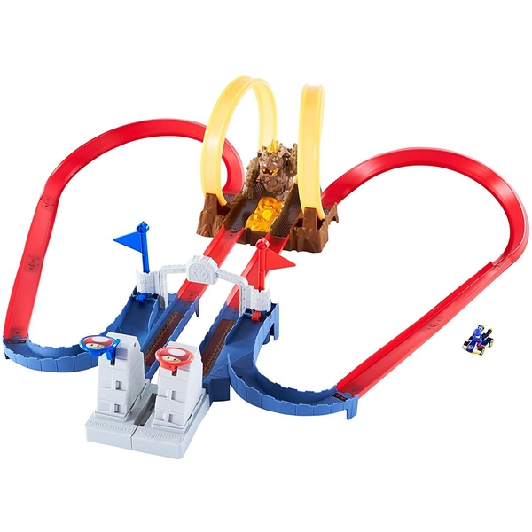 Hot Wheels Bowsers Castle Chaos Playset
