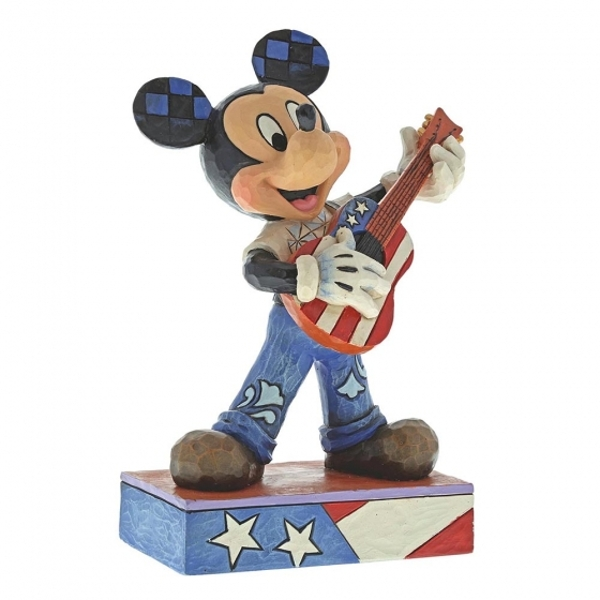 Rock and Roll (Mickey Mouse) Disney Traditions Figurine