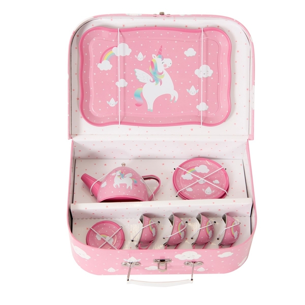 Sass & Belle Rainbow Unicorn Kid's Tea Set