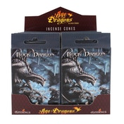 Pack of 12 Rock Dragon Incense Cones by Anne Stokes