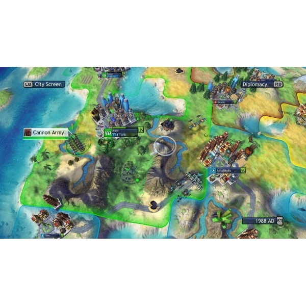 Sid Meier's Civilization Revolution Game PS3 (#) - Image 4