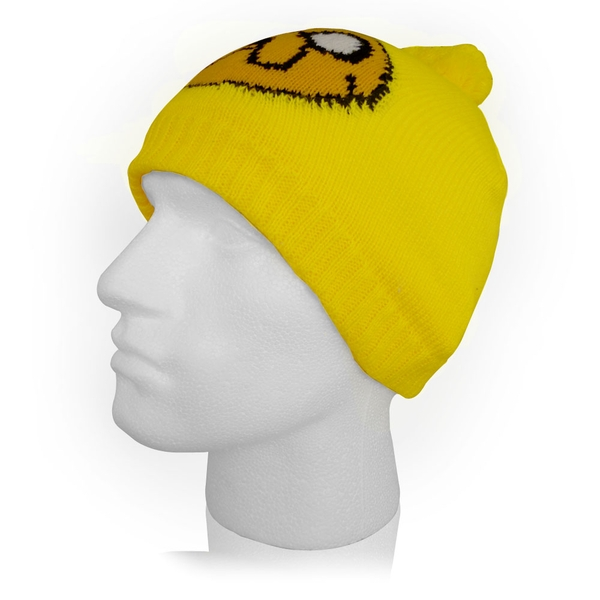 Adventure Time - Jake Face Unisex One Size Beanie - Yellow