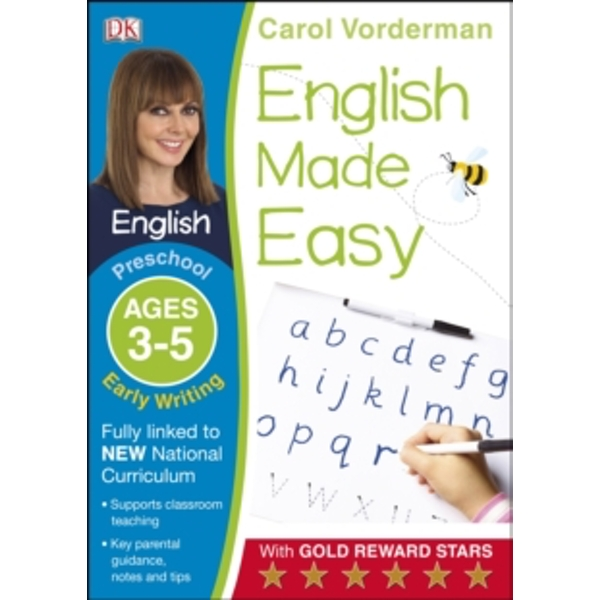 English Made Easy Early Writing Preschool Ages 3-5 by Carol Vorderman (Paperback, 2014)
