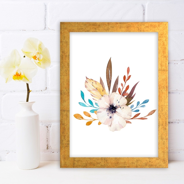 AC10355637853 Multicolor Decorative Framed MDF Painting
