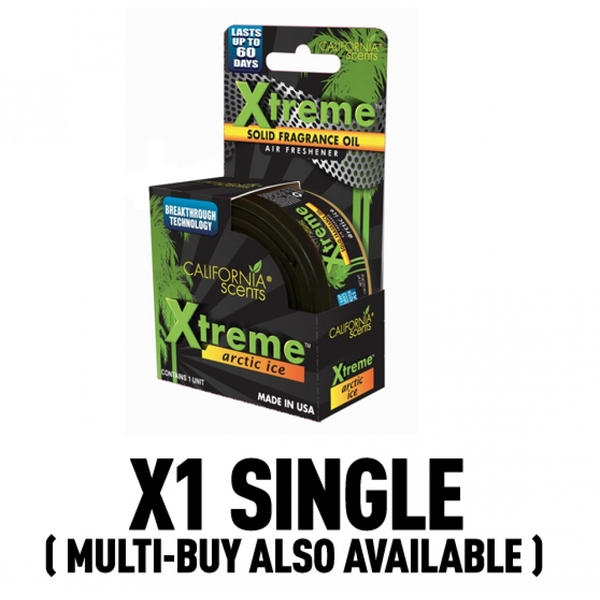 California Scents Xtreme Arctic Ice Car/Home Air Freshener - Image 1