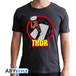 Marvel - Thor Men's Large T-Shirt - Grey - Image 2