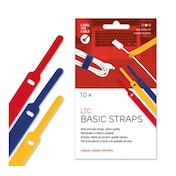 LTC Basic Cable Management Ties (mixed colours)