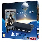 500GB SUPER SLIM Console System Black PS3 with Destiny
